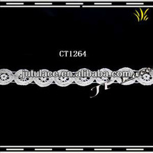CT1264 New small circular embroidered cotton lace wholesale