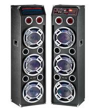 three bass bluetooth 6 woofer SA-180E with dj lighting