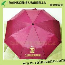Fashion 3 folding corporation gifts umbrellas