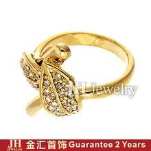 18k altın Om yüzük JH takı moda