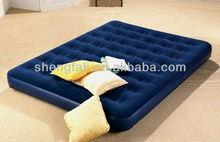 Inflatable bedroom furniture mattress bed