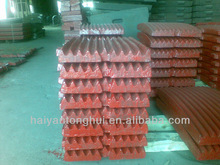 high manganese steel casting jaw plate toggle plate