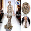 Fabulous Zuhair Murad Sexy See Through Evening Dress High Neck