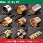 Bimetal material sleeve bearing bush/flanged tractor heavy machine bi metal bush/Teflon DU DX SOB graphite JDB WF FB FU bushing