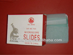 disposable Microscope slide & cover glass