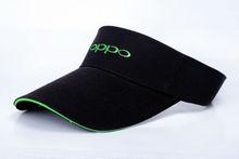 Black Embroidery Cheap Sports Sun Visor Cap WT-VC001