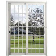 aluminum smart glass door