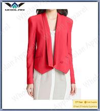 Fashion ladies clothes Silk coat Women's silk jacket