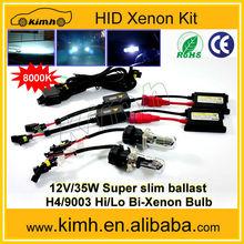 auto part led light DC 12V H4 slim hid kit