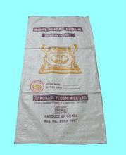 50kg 25kg pp woven flour bag, woven flour sack, sacks bags