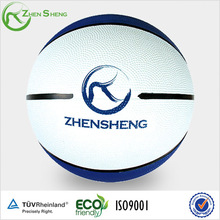 Zhensheng promotion rubber basketball
