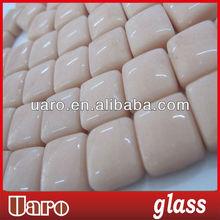 Jade series 12x12x6mm glass craft mosaic diy kit