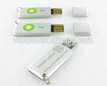Business reflective mini paper clip metal USB 3.0 flash driver stick 32GB Metal Mini-Twister USB Memory Stick