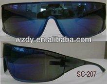 wraparound protective safety glasses