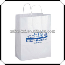 Custom printed kraft paper bag with LOGO printing