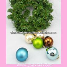 2015 colored,glitter,wonderful,christmas glass ball decor