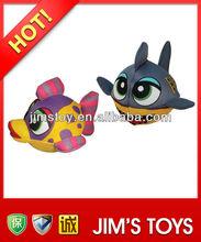 Hot sell fish shape sponge stuffed toy