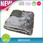 faux fur blanket polyester chinese blanket 100 black mink blanket