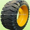heavy duty construção pneus de borracha sólida para diversos tamanhos e veículos especiais