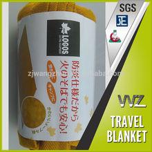 export to Japan 100% Modacrylic flame retardant woven blanket disaster preparendness blanket