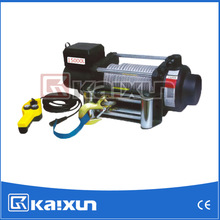 DC 12V Electric Winch KDJ-15000L with remote control