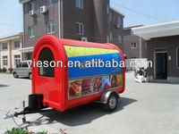 fast food hot dog carts food cart for sale/mobile restaurants/trailers for fast food