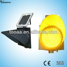 LED 300mm Solar blinkers for traffic warning