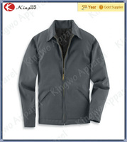 Cotton And Poly Blend Wrinkling Resistant quilted Twill Work Jacket Men