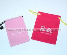 Drawstring velvet pouches packing jewelry gem