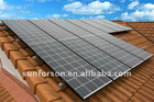 1KW to 100KW Large-Scale solar panel home mounting system