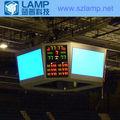 de baloncesto de la pantalla led con tablero de puntuación y de audio