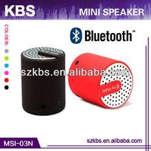 Fashionable Design Animal Mini Speaker With Compatible Mobile/Computer/MP3/MP4