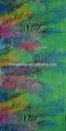 Viscose / rayon spandex impresso tecido de malha para vestuário
