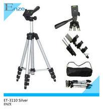 ET-3110 40''1Meter High Quality 4-Section Aluminum Folding Camera Tripod With Head Elinchrom Video Tripod tripod video camera