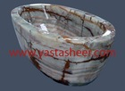 Bath Tubs Onyx Marble Decorative Gifts Marble Bath Tubs Manufacturer and Supplier of Onyx Marble Bath Tub & Handicrafts Decor