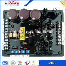 VR6 automatic voltage regulator with servo motor