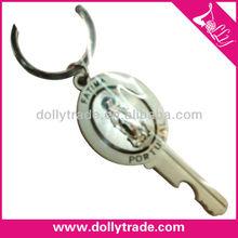 Virgin Mary Key Shape Keychain For Souvenir Gifts