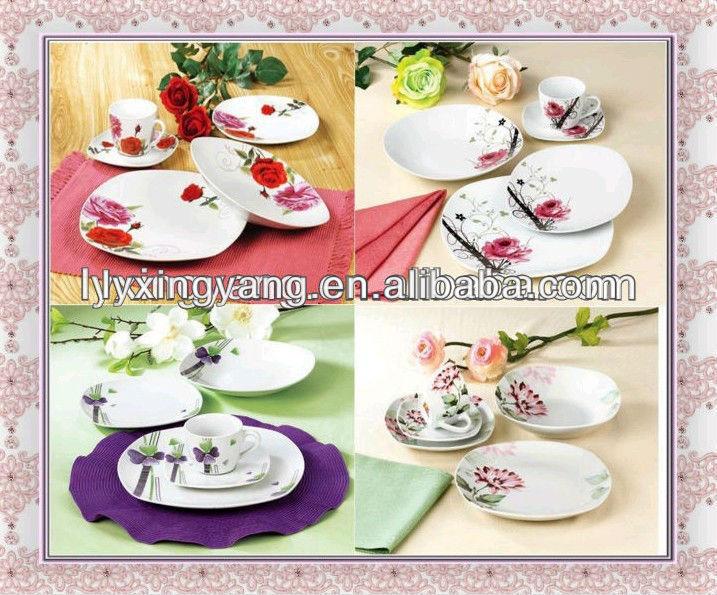OLMA porcelain tableware/Factory direct porcelain dinnerware/ wholesale dinnerware set