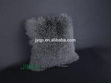 Wholesale Tibetan Mongolian Lamb Fur Wool Cushion Cover