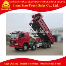 Howo 12 Wheel 40 ton International Tipper Truck