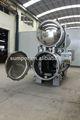 automática de rotary autoclave horizontal industrial