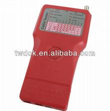 China, fabricante de alta velocidade rj45 rede testador de cabos de ferramentas e equipamentos fios conectados a definição de fibra óptica