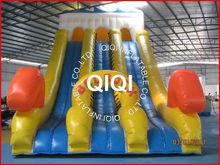Dual Lane Inflatable Water Slides Wholesale/cheap inflatable water slides