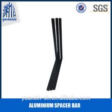 bendable aluminium spacer bar for window and door