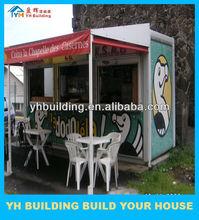 YH Egypt movable fast food kiosk