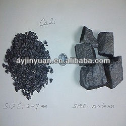 steelmaking used Calcium Silicon alloy as good deoxidizer and desulfurizer