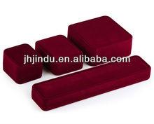 Superior Quality Velvet Custom Made Jewellery Packaging Box