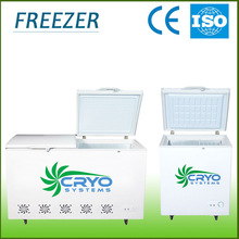 3 years warranty tropical using top loading cooler freezer