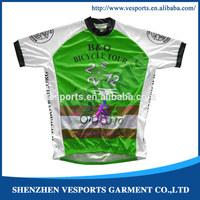 Dye Sublimation Coolmax Cycling Jerseys
