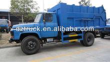 Dongfeng 140 docking garbage truck 10 tons